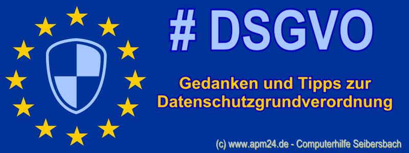 Infografik RSS-Feed: Datenschutzgrundverordnung DSGVO