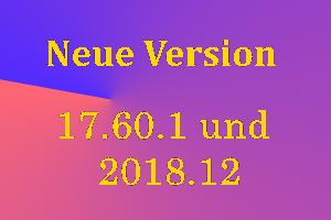 Infografik RSS-Feed: Neue Version 17.60.1 und 2018.12