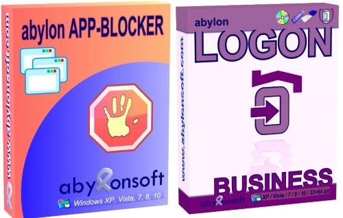 Infografik RSS-Feed: Neue Funktionen für abylon LOGON Business und abylon APP-BLOCKER