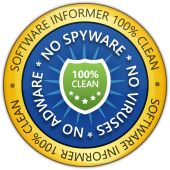 Software Informer: 100% Clean Award