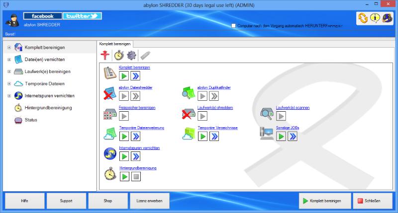 Infografik RSS-Feed: Neue Version abylon SHREDDER bereinigt Microsoft-Edge Spuren