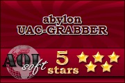 AOL-soft rate abylon UAC-GRABBER with 5 stars